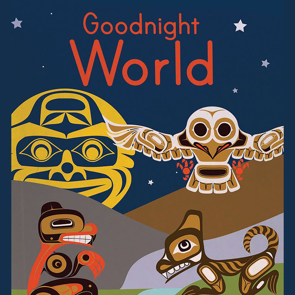 "Board Book - Native Northwest, ""Good Night World"""