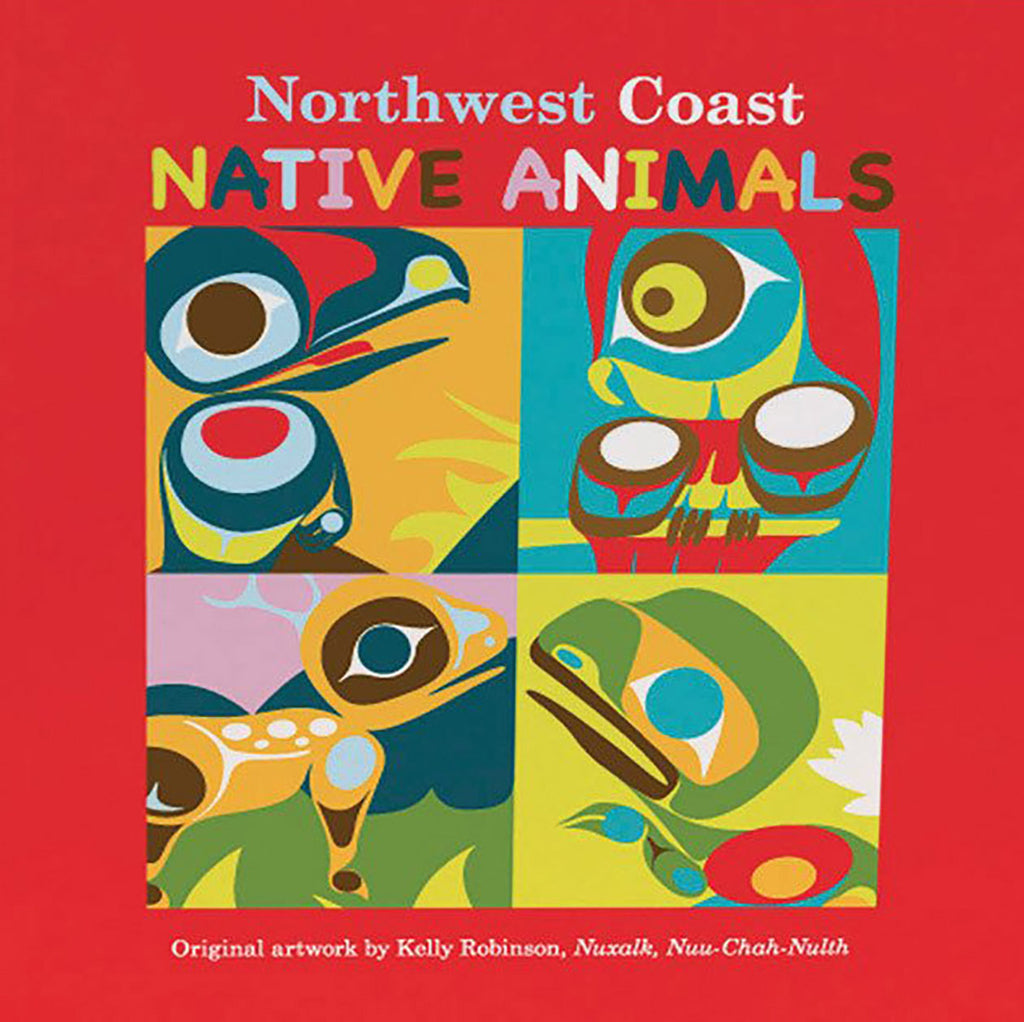 "Board Book - Native Northwest, ""Northwest Coast Native Animals"""