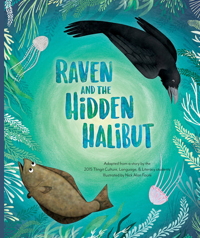 "Baby Raven Reads- ""Raven and the Hidden Halibut"""