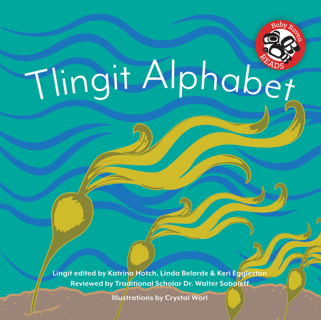 "Baby Raven Reads - ""Tlingit Alphabet"" Two-book Set"