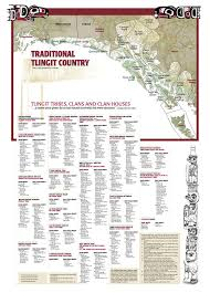 Traditional Tlingit Country Map