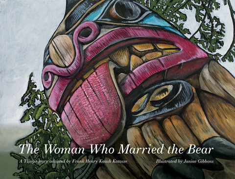 "Baby Raven  Reads- ""The Woman Who Married the Bear"""