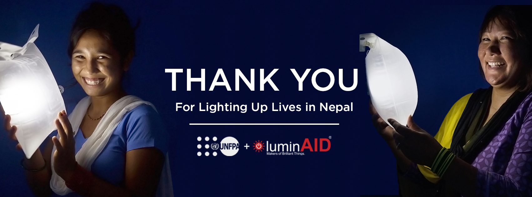 Shining Light on Nepal: Give Light, Get Light Update from UNFPA and LuminAID