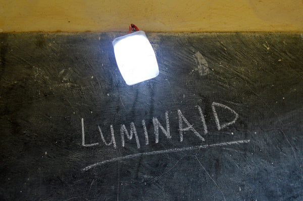 One Step to a Brighter Future: LuminAID Partners with Kids N Culture