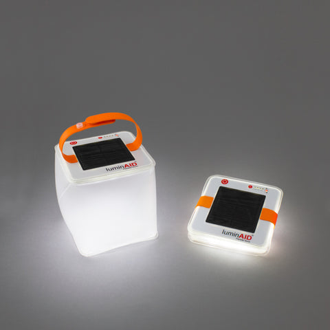 LuminAID foldable lightweight travel lantern