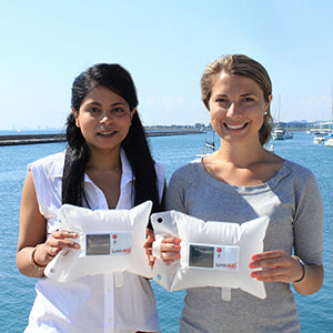 Andrea Sreshta and Anna Stork | LuminAID