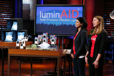 LuminAID on Shark Tank