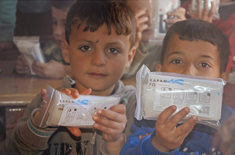 LuminAID and Karam Foundation partner to bring light to syria