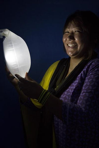 Nepal Woman Light LuminAID