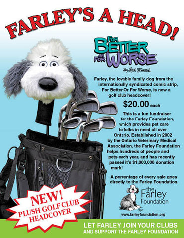 Farley Golf Club Cover