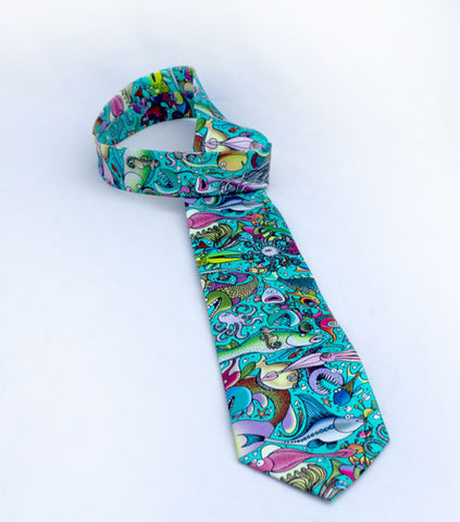 Neck Ties Featuring Lynn's Fabric Designs
