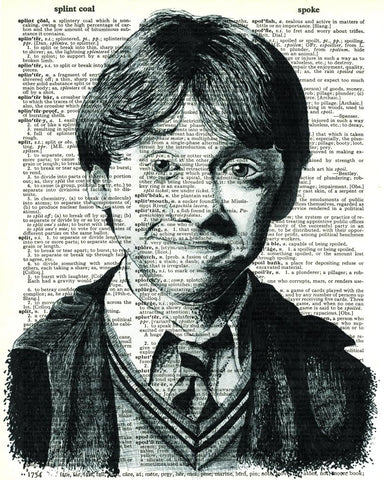 Ron Weasley - Dictionary Art Print