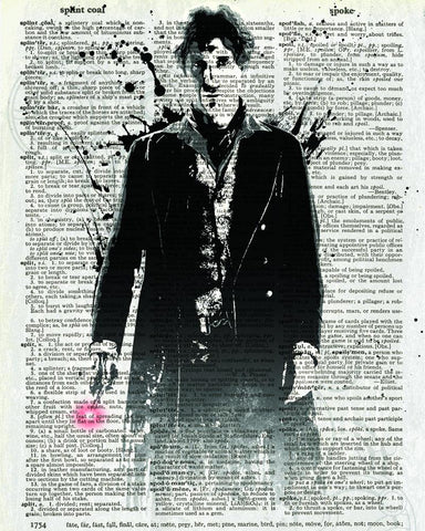 Dr Who Doctor 8 - Dictionary Art Print