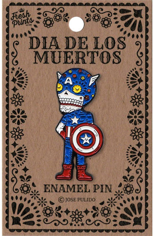 Captain America - Enamel Pin