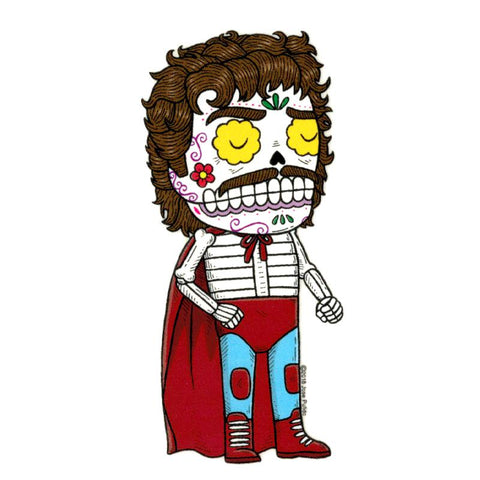 Nacho Libre - Day of the Dead Sticker
