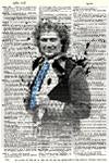 Dr Who Doctor 6 - Dictionary Art Print