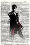 Dr Who Doctor 12 - Dictionary Art Print