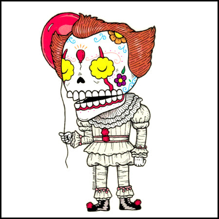 Pennywise - Day of the Dead Sticker