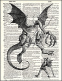 An image of a(n) Jaberwocky Dictionary Art Print.