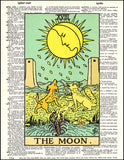 An image of a(n) Tarot Moon Dictionary Art Print.