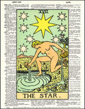 An image of a(n) Tarot Star Dictionary Art Print.