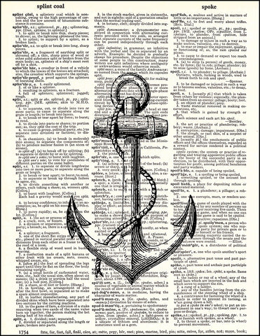 An image of a(n) Anchor Dictionary Art Print.