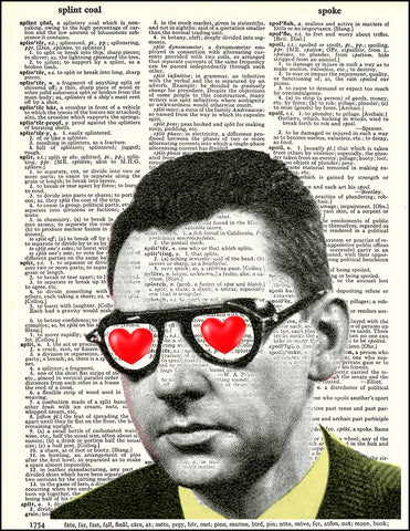 An image of a(n) Larry Loveingsworth Dictionary Art Print.