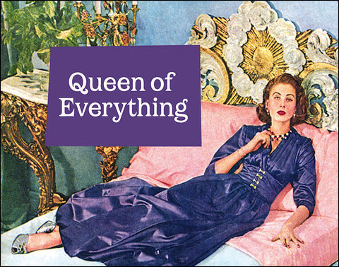 An image of a(n) Queen Of Everything Ephemera Art Print.