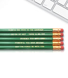 An image of a(n) Yoda inspired Inspirational Pencil.
