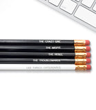 An image of a(n) Crazy Ones inspired Inspirational Pencil.