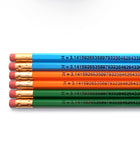 An image of a(n) Pi inspired Inspirational Pencil.