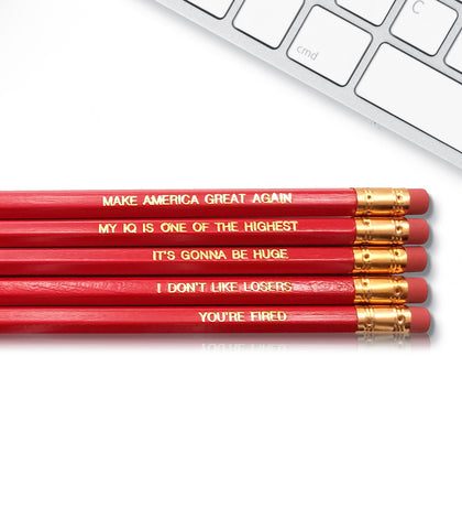 An image of a(n) Trump Pencils inspired Inspirational Pencil.