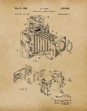 An image of a(n) Camera Bing 1966 - Patent Art Print - Parchment.