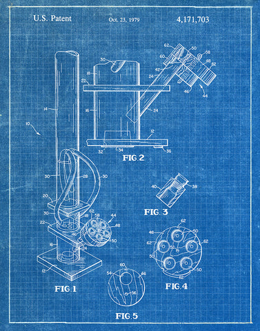 An image of a(n) Water Pipe 1979 - Patent Art Print - Blueprint.