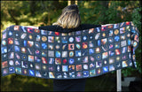 An image of a(n) Hubble Telescope Collection - Scarf.