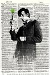 Dr Who Doctor 11 - Dictionary Art Print