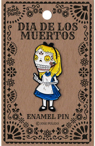 Alice in Wonderland - Enamel Pin