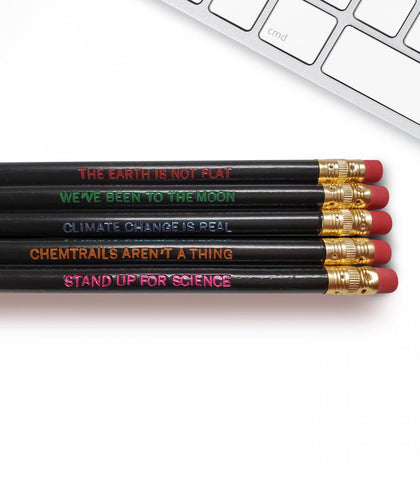 Science is Real - Inspirational Pencils