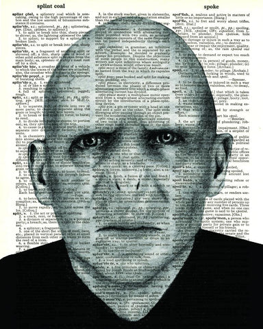 Voldemort - Dictionary Art Print