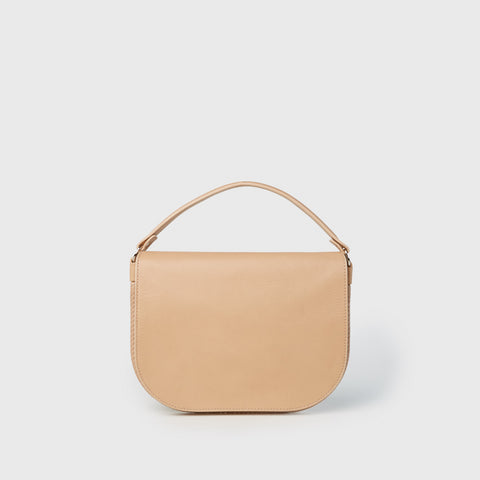 Leather Clutch - Natural