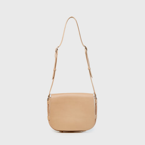 Large Saddle Bag - Natural
