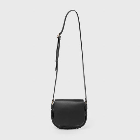 Small Saddle Bag - Black