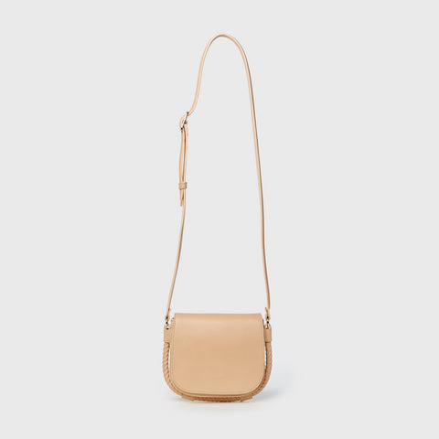 Small Saddle Bag - Natural