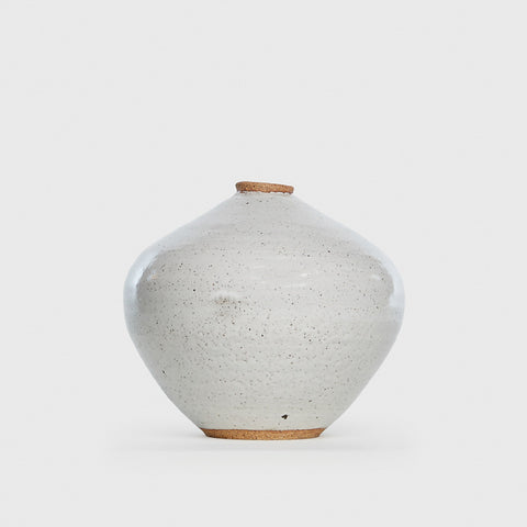 Bottle Vase - Toasted White