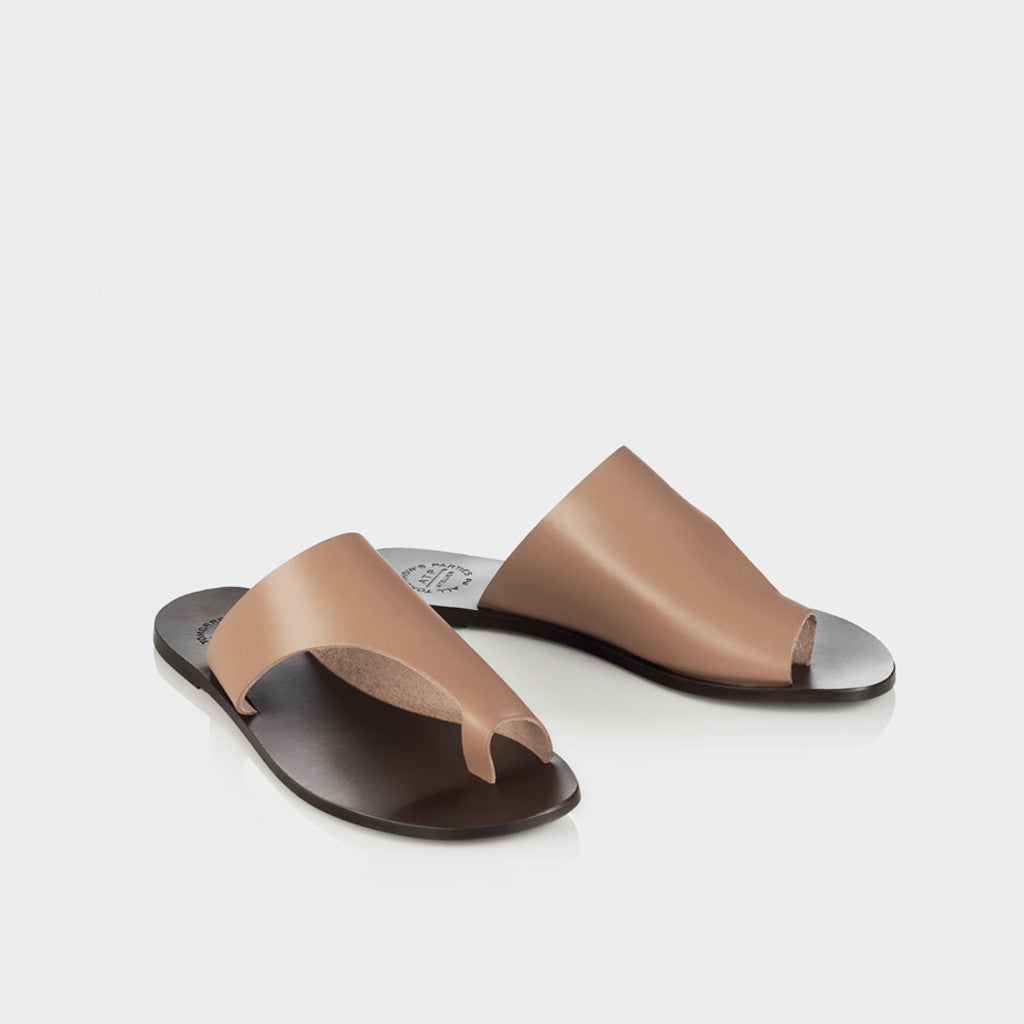 Rosa Flat Sandal - Blush - Final Sale