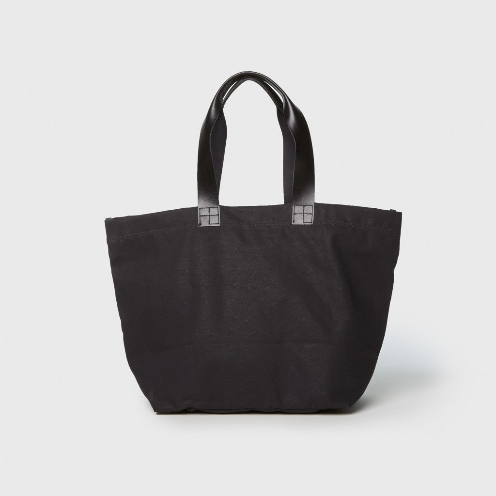 Carry All Wide Tote - Black/Black