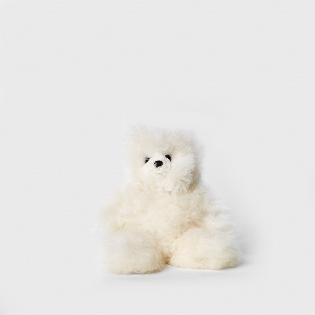 Alpaca Fur Teddy Bear