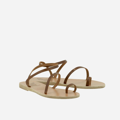 Apli Eleftheria Flat Sandal - Cotto