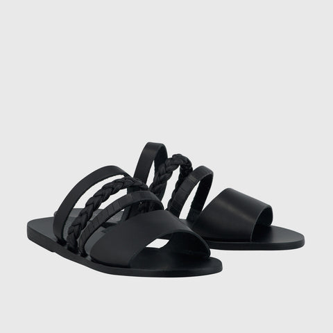 Helene Sandal - Black - Final Sale