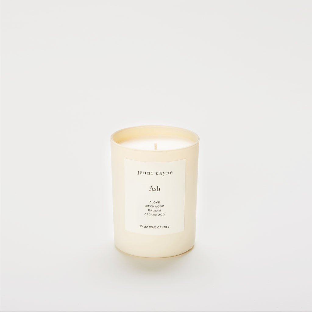 Ash Matte Glass Candle
